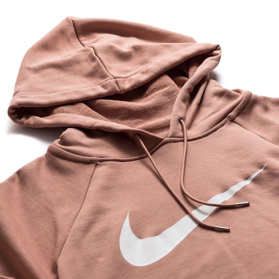 Nike Hoodie NSW FT Crop Rose GoldWeiß Damen