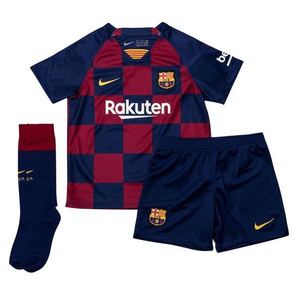 lowest price 285d7 a01a6 Barcelona Home Shirt 2019/20 Mini-Kit Kids