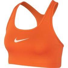Nike Swoosh Sportbeha – Oranje/Oranje Vrouw