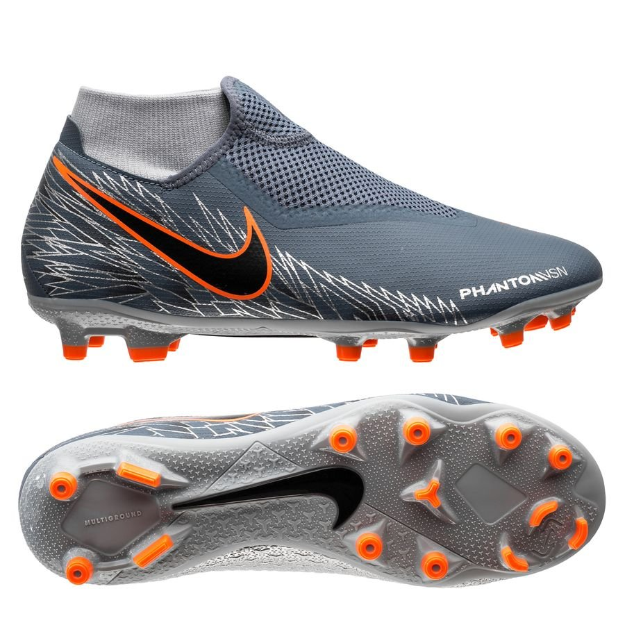 Nike Phantom Vision Academy DF MG - Blå/Sort/Orange