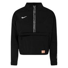 Nike F.C. Midlayer Top Dry 1/2 Zip – Zwart/Wit Vrouw