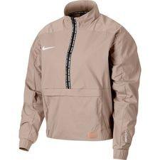 Nike F.C. Midlayer Top Dry 1/2 Zip - Oranje/Wit Vrouw