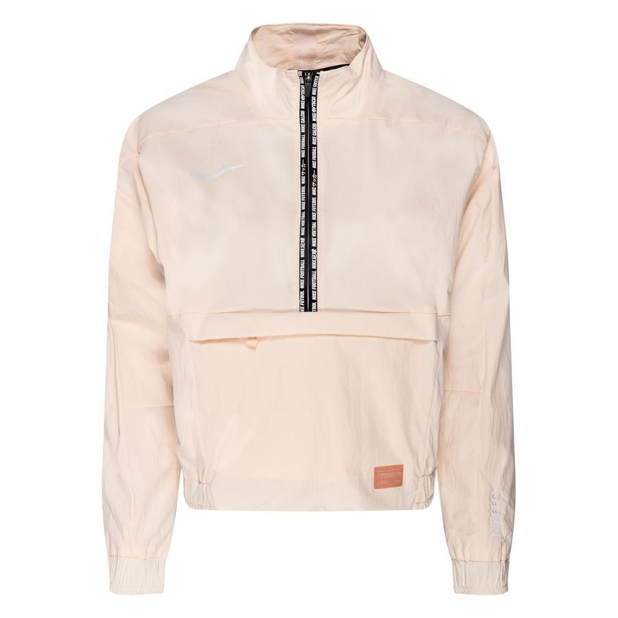 Nike F.C. Midlayer Top Dry 1/2 Zip - Guava Ice/White Woman