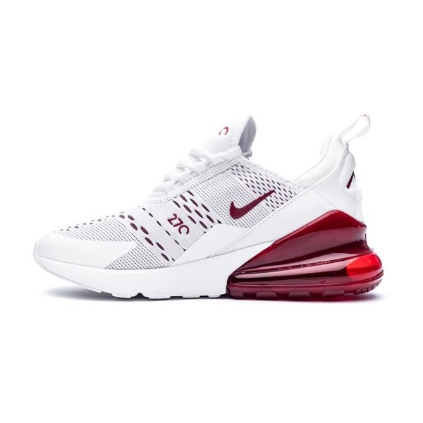 new concept 81ec0 f9f3a Nike Air Max 270 - White/Team Red Kids