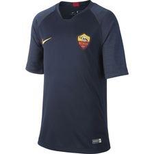 Roma Tränings T-Shirt Breathe Strike - Navy/Guld Barn