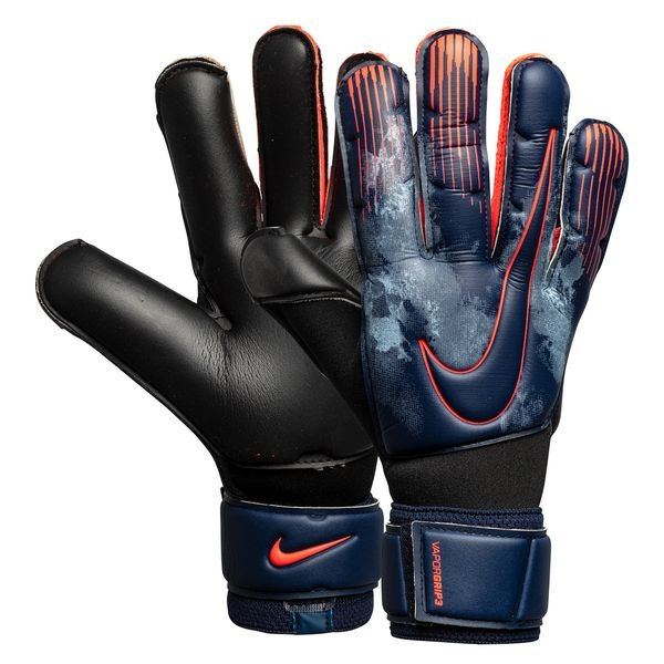 best quality authentic reputable site Nike Goalkeeper Gloves Vapor Grip 3 Fully Charged - Obsidian/Black/Bright  Crimson