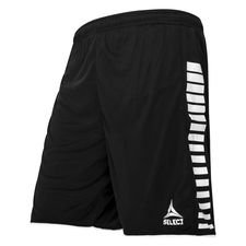 Select Shorts Argentinien - Schwarz/Weiß