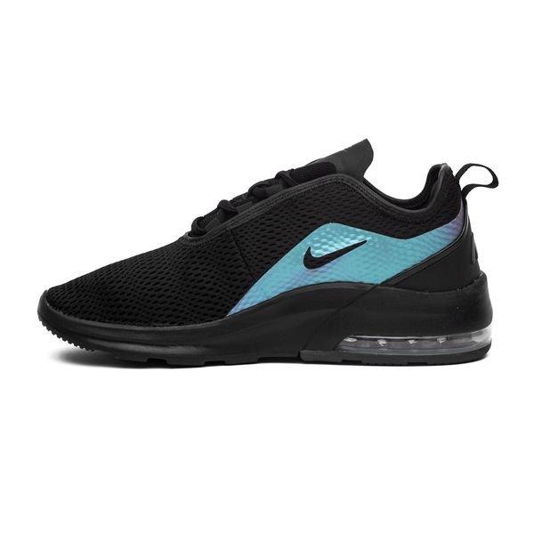 la moitié 6f692 b9f01 Nike Air Max Motion 2 - Noir/Gris/Bleu Femme