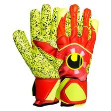 Uhlsport Torwarthandschuhe Dynamic Impulse Supergrip Finger Surround - Orange/Gelb