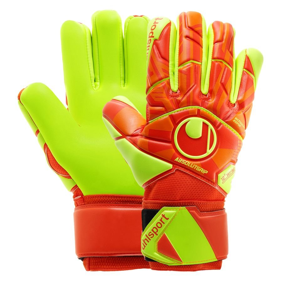 Uhlsport Dynamic Impulse Absolutgrip HN - Orange/Gul thumbnail