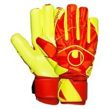 Uhlsport Torwarthandschuhe Dynamic Impulse Supersoft HN - Orange/Gelb