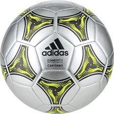 adidas Fotboll Conext 19 Capitano - Silver/Svart/Gul