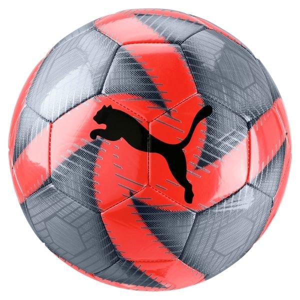 Puma Fussball Future Flare Grau Rot Weiss