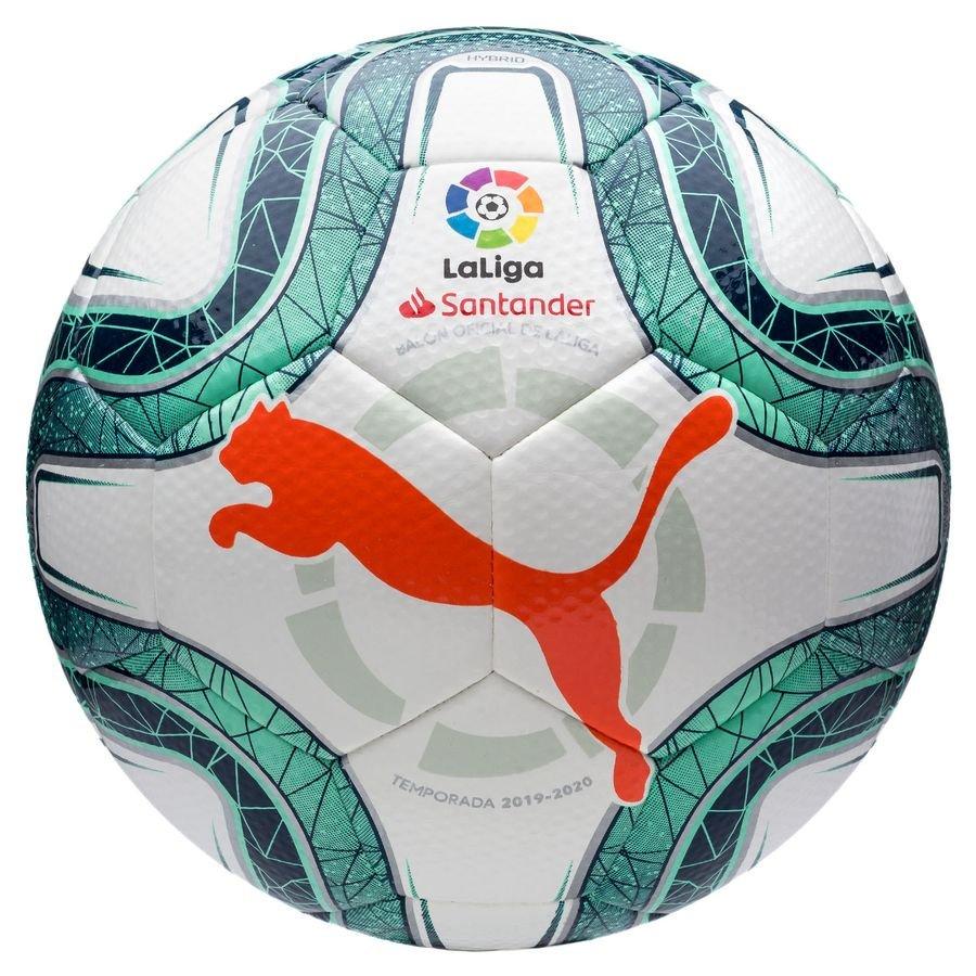 PUMA Fodbold La Liga 1 Hybrid – Hvid/Grøn/Rød