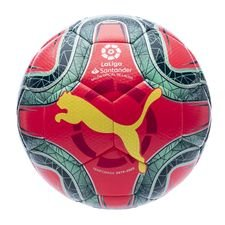 PUMA Fotboll La Liga 1 Hybrid Dimple - Röd/Grön/Gul