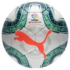 PUMA Mini Fotboll La Liga 1 - Vit/Grön/Röd