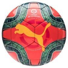 PUMA Mini Fotboll La Liga 1 - Rosa/Gul/Turkos