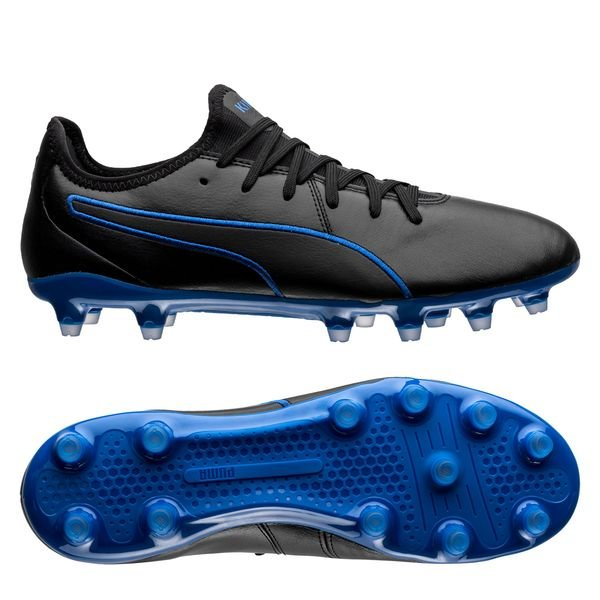 PUMA King Pro FG - PUMA Black/Royal Blue