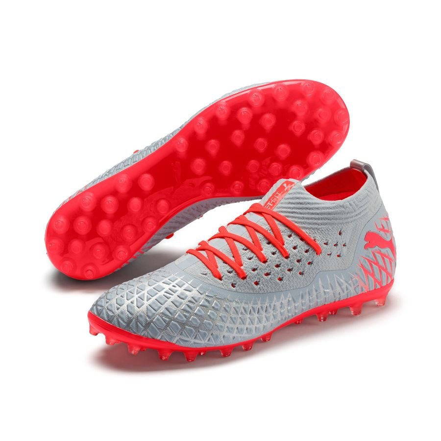 PUMA Future 4.2 Netfit MG Anthem – Blå/Rød