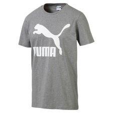 PUMA Classics T-Shirt - Grau/Weiß