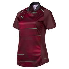 PUMA Training T-Shirt ftblNXT Graphic - Vineyard Wine/Grün Damen