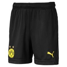 Dortmund Shorts - Svart/Gul Barn