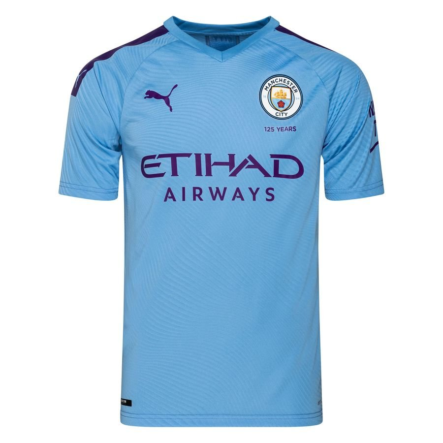 Manchester City Hjemmebanetrøje 2019/20 Authentic