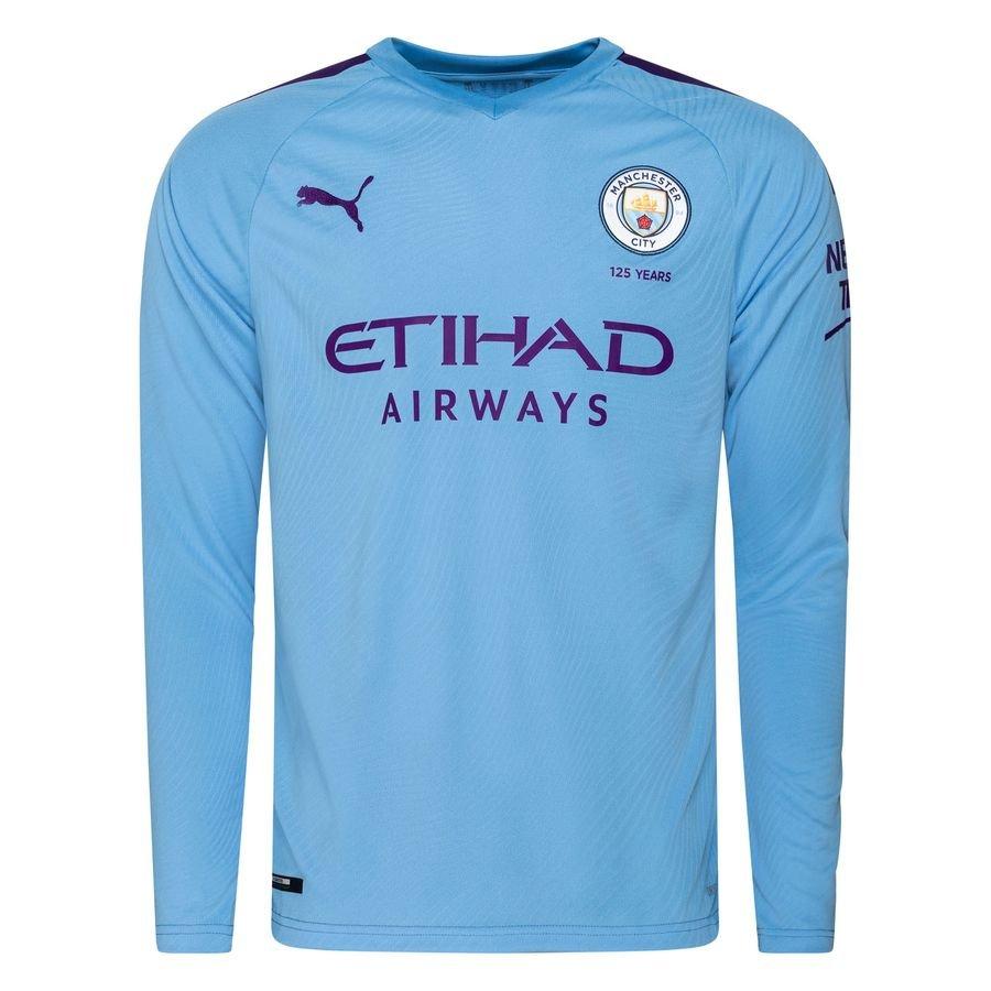 Manchester City Hjemmebanetrøje 2019/20 Langærmet
