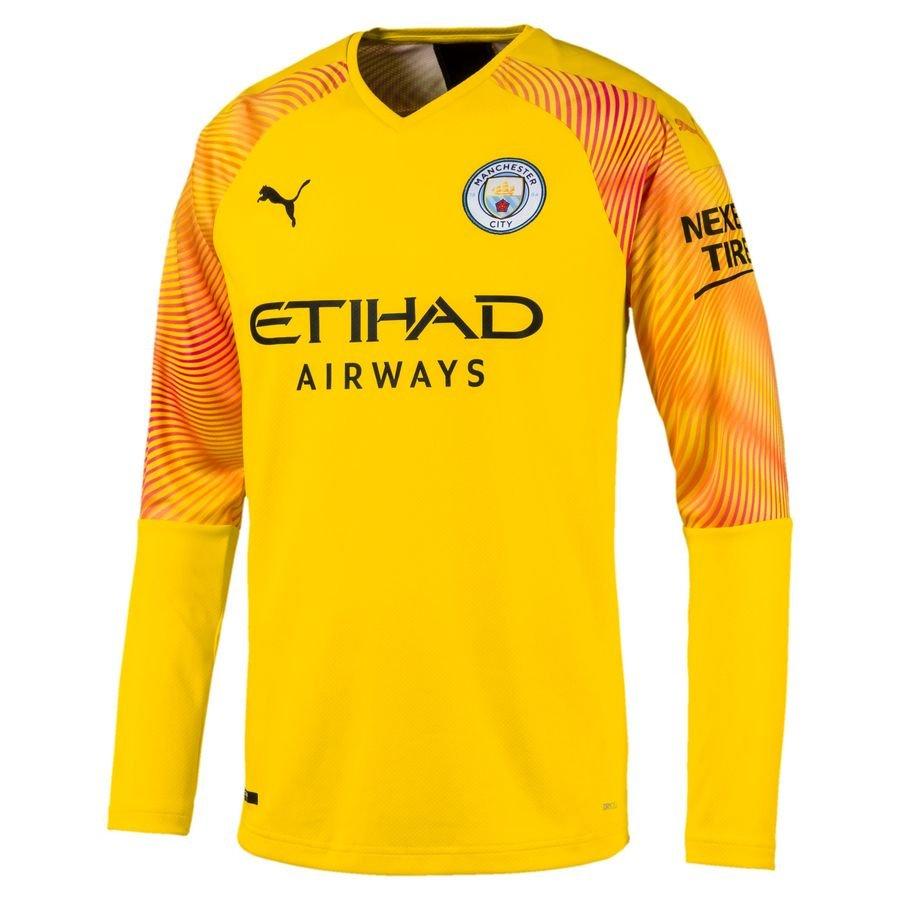Manchester City Målmandstrøje 2019/20 Gul