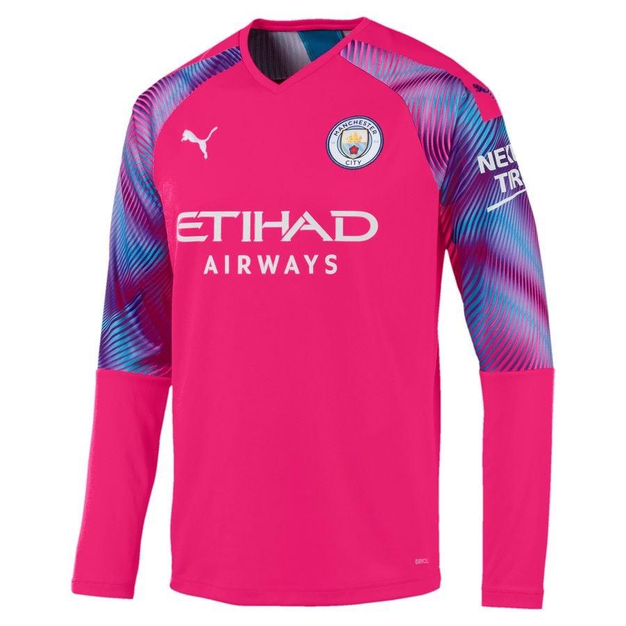 Manchester City Målmandstrøje 2019/20 Pink