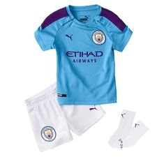 Manchester City Hemmatröja 2019/20 Mini-Kit Barn