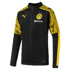 Dortmund Poly Jacka - Svart/Gul Barn
