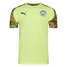 Manchester City Tränings T-Shirt - Gul/Grå