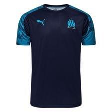 Marseille Tränings T-Shirt - Navy/Blå