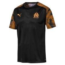 Marseille Tränings T-Shirt - Svart/Orange Barn