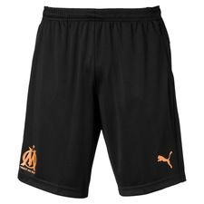 Marseille Shorts - Svart/Orange
