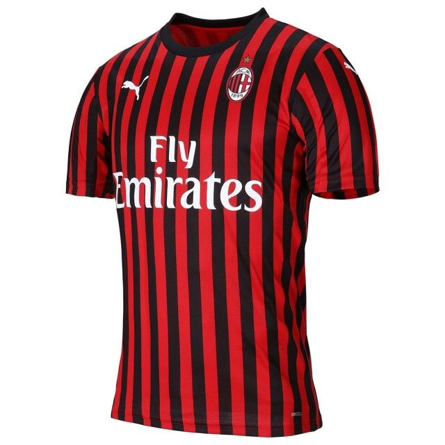 Milan Hjemmebanetrøje 2019/20 Authentic