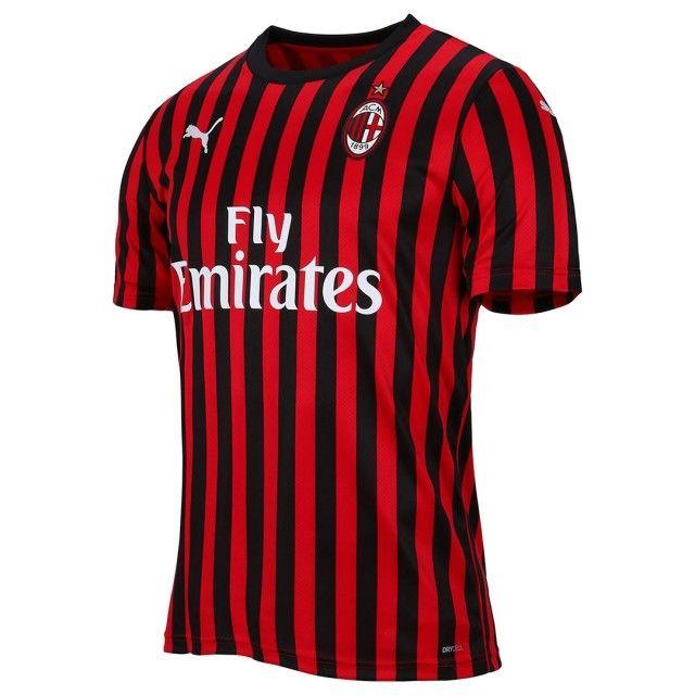 Milan Hjemmebanetrøje 2019/20
