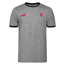 Milan T-Shirt FtblCulture - Grå/Röd