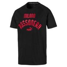 Milan Premium T-Shirt - Svart/Röd