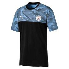 Manchester City T-Shirt Casuals - Svart/Blå
