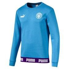 Manchester City Sweatshirt FtblCulture - Blå/Vit