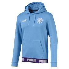 Manchester City Luvtröja FtblCulture - Blå/Vit