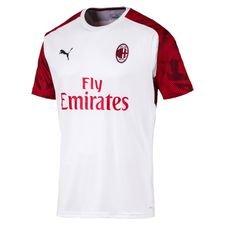 Milan Tränings T-Shirt - Vit/Röd