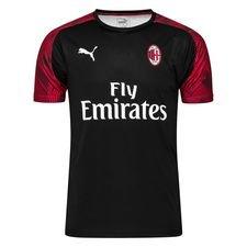 Milan Tränings T-Shirt - Svart/Röd