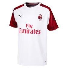 Milan Tränings T-Shirt - Vit/Röd Barn