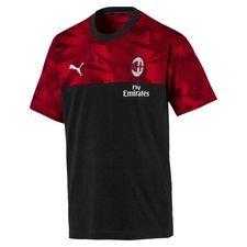 Milan T-Shirt Casuals - Svart/Röd