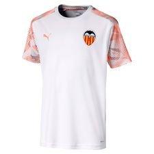Valencia Tränings T-Shirt - Vit/Orange Barn
