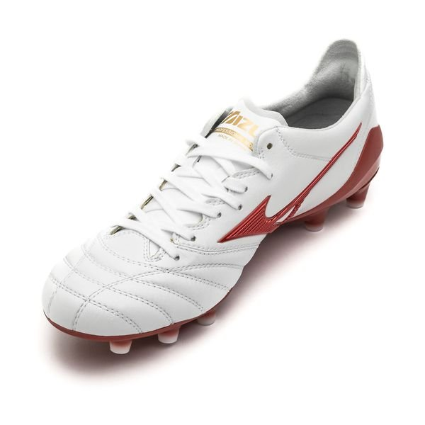 new arrival ded08 e20b3 Mizuno Morelia Neo II F9T FG - White Red LIMITED EDITION