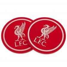 Liverpool Coaster Set 2-Pack - Röd